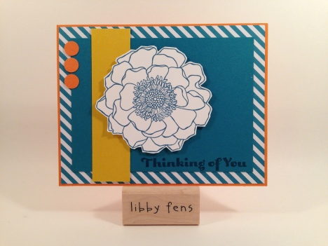 libbystamps, Blended Bloom, All Abloom DSP Paper Stack, Four You