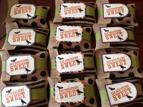 libbystamps, Boo-tiful Bag Paper Pumpkin, Halloween Treats