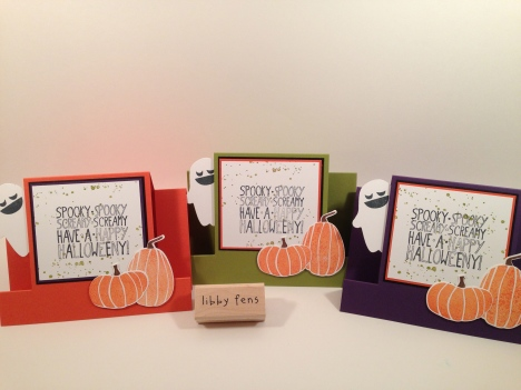 libbystamps, Fall Fest, Fun Fall Framelits, Mingle All the Way, Center Stair Step Card