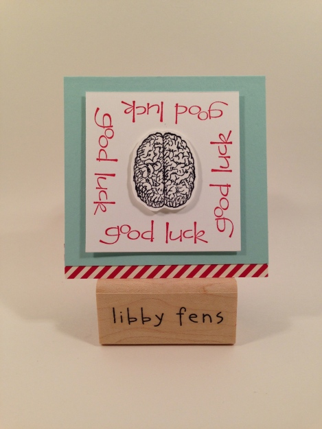 libbystamps, Pomp & Circumstance, So Happy for You, 3x3 Card,