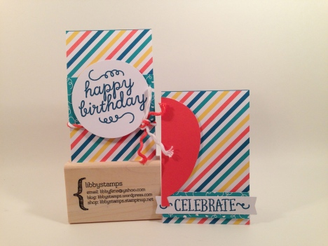 libbystamps, Stampin' Up, stampin up, Paper Pumpkin, Birthday Bundle,