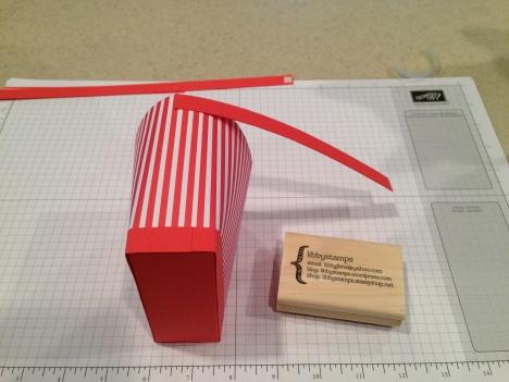 libbystamps, Stampin' Up, stampinup, purse bag, purse box, paper purse, Envelope Liner Paper, tutorial