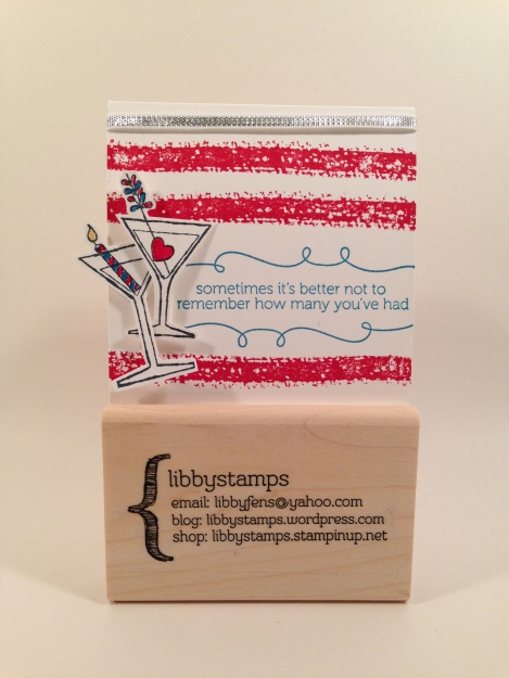 libbystamps, Stampin' Up, stampinup, Work of Art, 3x3, Sprinkles on Top, Making Spirits Bright