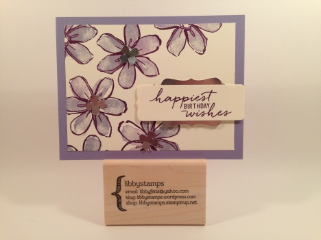 libbystamps, Stampin' Up, stampinup, Garden in Bloom Stamp Set, Watercolor Wishes Card Kit, Project Life Cards & Label Framelits, Decorative Label Punch, Itty Bitty Accents Punch Pack, Silver Foil Sheets,
