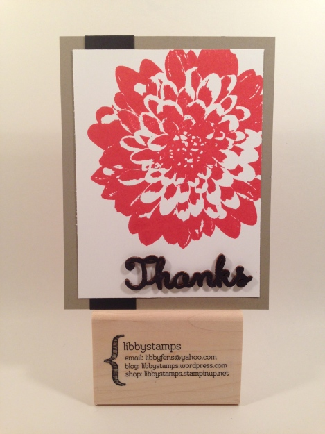 libbystamps, Stampin' Up, stampinup, Definitely Dahlia, Expressions Natural Elements