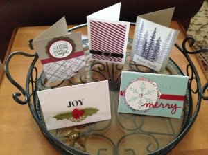 libbystamps, Stampin' Up, Christmas Cards