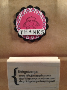 libbystamps, Stampin Up, Fry Box Bigz, More Amore DSP, Girl Scout, Girl Power Stamp Set,