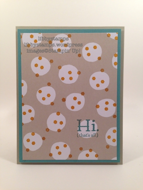 libbystamps, stampin up, It's My Party DSP, Party Pants, CCMC400