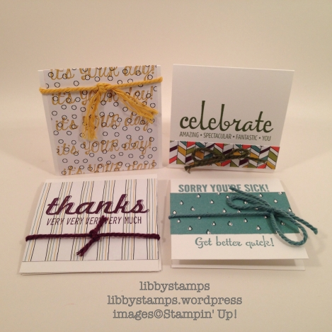 libbystamps, Stampin Up, BFBH April, 3x3