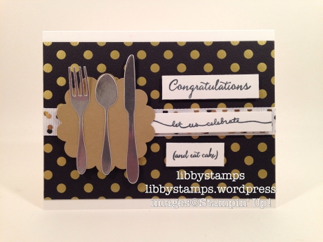 libbystamps, stampin' up, Cups & Kettle Framelits, Balloon Celebration, wedding, rehearsal dinner,