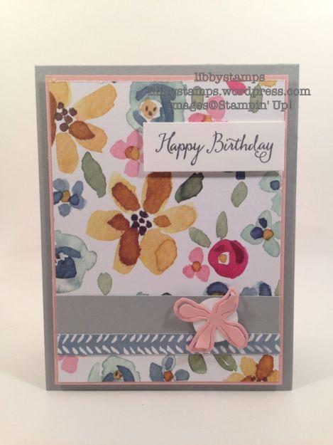 libbystamps, stampinup, Balloon Celebration, Botanical Builder Framelits, English Garden DSP, TSOT267