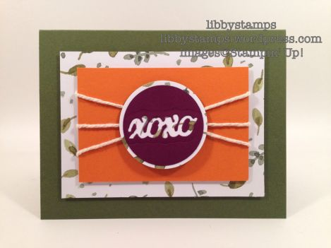 libbystamps, stampin' up, Wacky Watercooler Blog Hop April, 2014-2016 In Colors