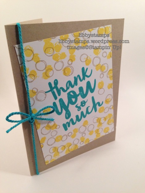 libbystamps, stampin up, Playful Backgrounds, Thankful Thoughts, CCMC410, Thank You