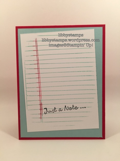 libbystamps, stampin up, Better Together, Writing Notes Background, CCMC417