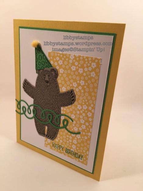libbystamps, stampin up, Bear Hugs, Sweet Cupcake, Better Together, Bear Hugs Framelits, Cupcake Cutouts Framelits, SUO#155, CYCI#133, NAC178
