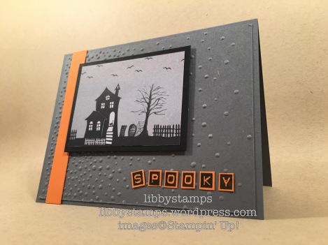 libbystamps, stampin up, Labeler Alphabet, Halloween Night Specialty, WWC84, Softly Falling EF, Halloween