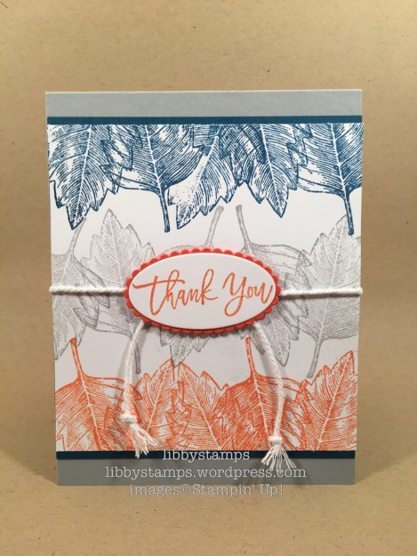 libbystamps, stampin up, Vintage Leaves, Suite Seasons, Layering Ovals Framelits, CCMC426, fall