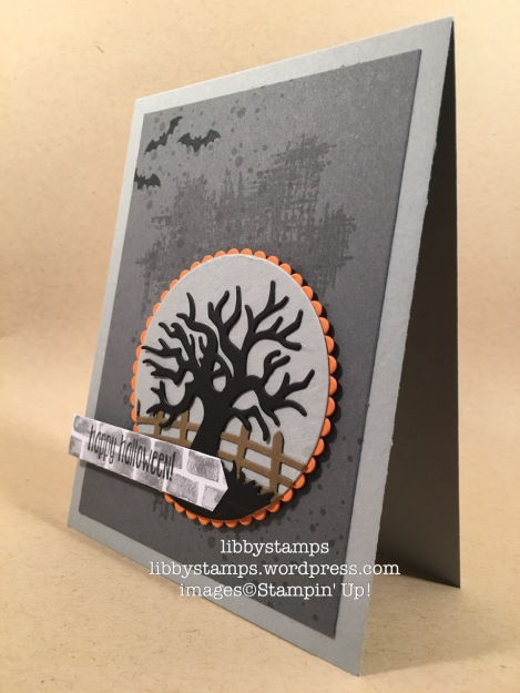 libbystamps, stampin up, Halloween Scenes Edgelits, You've Got This, Timeless Textures, Spooky Fun, Halloween Night Specialty, Layering Circles Framelits, Watercooler Wednesday
