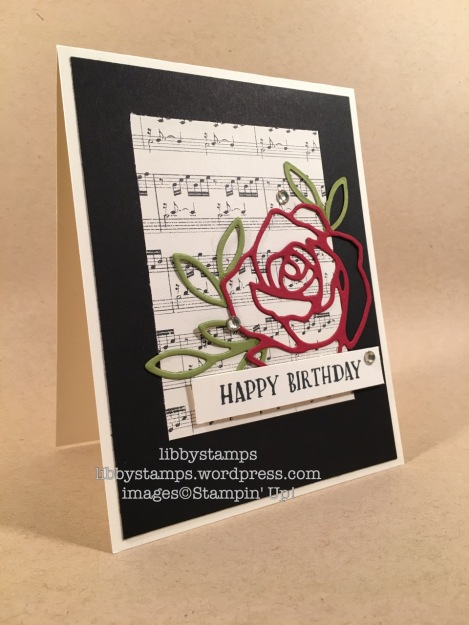libbystamps, stampin up, Sweet Cupcake, Rose Garden Thinlits, This Christmas DSP, CCMC429