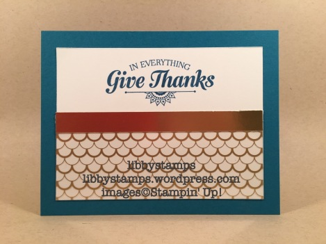 libbystamps, stampin up, Suite Seasons, Fabulous Foil Designer Acetate, Gold Foil, Thanksgiving card