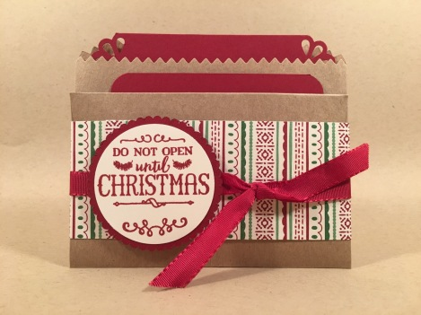 libbystamps, stampin up, team meeting, SWAPS, Christmas, gift card holder