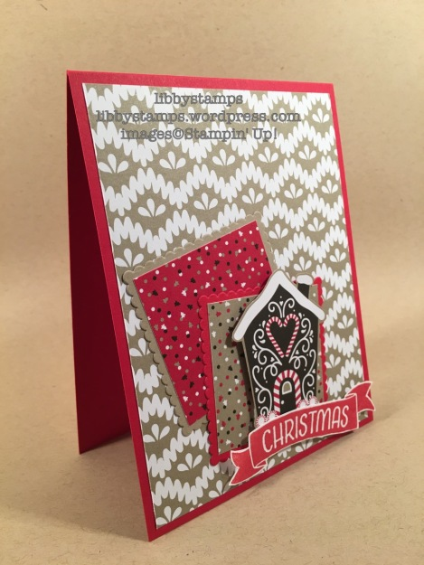 libbystamps, stampin up, Time of Year, Layering Squares Framelits, Candy Cane Lane DSP, CCMC