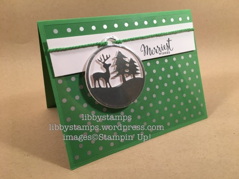 libbystamps, stampin up, Fabulous Foil Designer Acetate, Merriest Wishes, Merry Tags, CCMC437