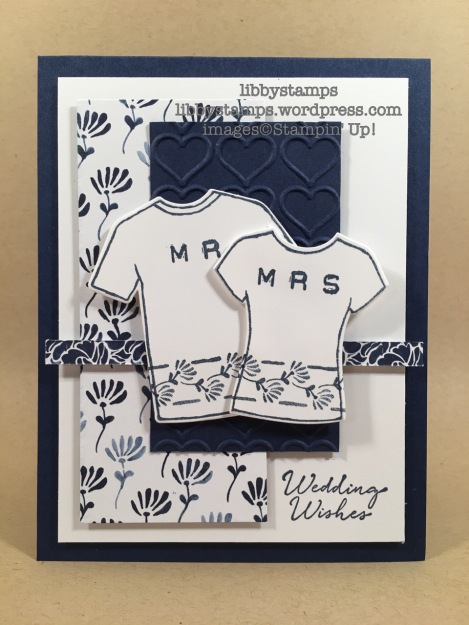 libbystamps, stampin up, Customer Tee, Labeler Alphabet, T-Shirt Builder Framelits, Floral Boutique, Happy Heart EF