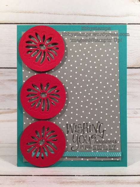 libbystamps, stampin up, Better Together, Stylish Stems Framelits, Carried Away DSP, Sale-a-Bration 2017, sab, TSOT#309
