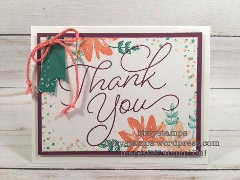 libbystamps, stampin up, Avant Garden, So Very Much, 2016-2017 In Color Envelope Paper, CCMC446, Sale-a-Bration 2017