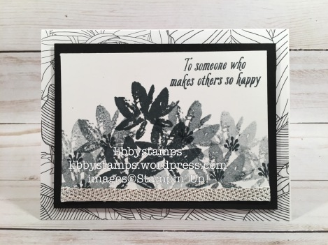 libbystamps, stampin up, Avant Garden, Inside the Lines DSP, 3/8 Metallic Ribbon