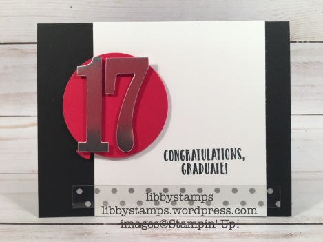 libbystamps, stampin up, Suite Sentiments, Balloon Framelits, Large Numbers Framelits, graduation, graduation gift card holder, CCMC453