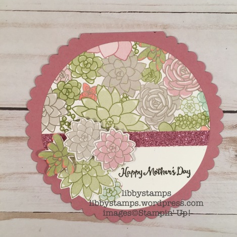 libbystamps, stampin up, Oh So Succulent, Succulent Framelits, Oh So Succulent Bundle, Succulent Garden DSP, TSOT#319