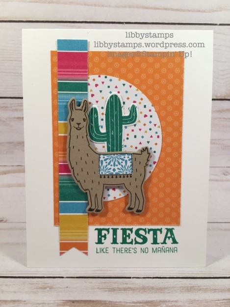 libbystamps, stampin up, Birthday Fiesta, Fiesta Time Framelits, Festive Birthday DSP, Layering Circles, CCMC