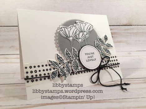 libbystamps, stampin up, Oh So Eclectic Bundle, Oh So Eclectic, Oh So Eclectic, Pick a Pattern Washi Tape, CCMC, black & white, 2017-2018 Catalog