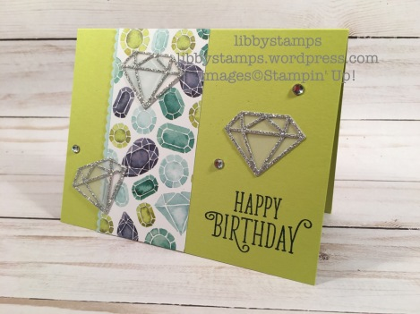 libbystamps, stampin up, Happy Birthday Gorgeous, Eclectic Layers Thinlits, Naturally Eclectic DSP, Decorative Ribbon Border Punch, Decorative Ribbon Border Punch, WWC