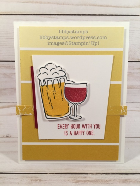 libbystamps, stampin up, Mixed Drinks, Color Theory DSP, CCMC