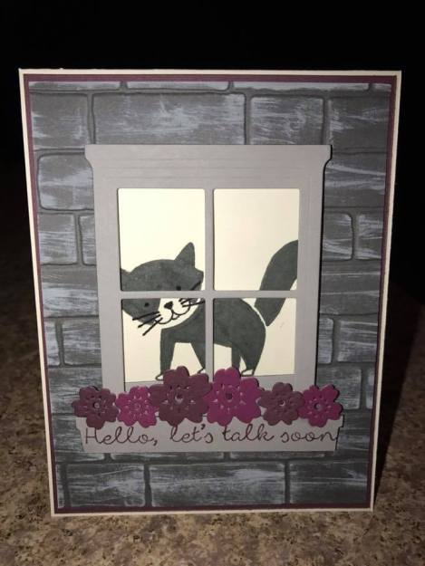 Stampin' Up, Joan W, Foxy Friends, Better Together, Hearth and Home, Bloomin Heart, Brick Wall EF