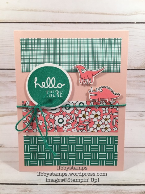 libbystamps, stampin up, Pieces & Patterns, Pick a Pattern DSP