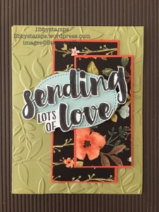 libbystamps, stampin up, Lots of Love, Stitches Shapes Framelits, Whole Lot of Lovely, Whole Lot of Lovely DSP, FSM300