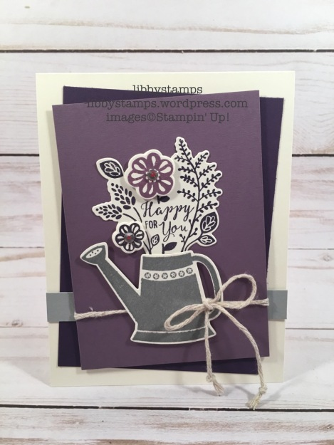 libbystamps, stampin up, Grown With Love Bundle, Grown with Love, Garden Grown Framelits
