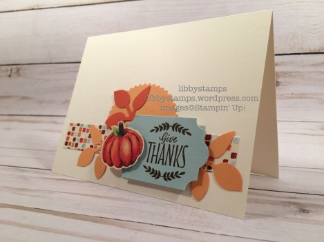 libbystamps, stampin up, Labels to Love, Painted Autumn DSP, Everyday Label Punch, Leaf Punch, Starburst Punch, CCMC