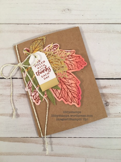 libbystamps, stampin up, Layered Leaves Paper Pumpkin, October 2017, Paper Pumpkin
