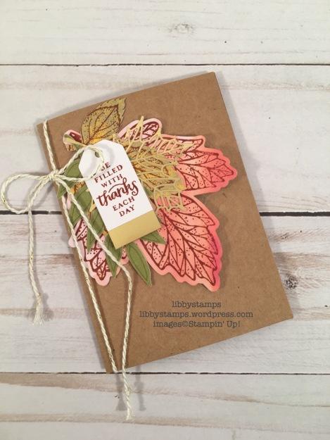 libbystamps, stampin up, Layered Leaves Paper Pumpkin, October 2017, Paper Pumpkin