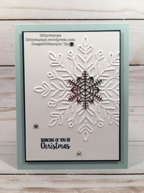 libbystamps, stampin up, Seasons Like Christmas, Seasonal Layers Thinlits, Winter Wonder EF, CCMC