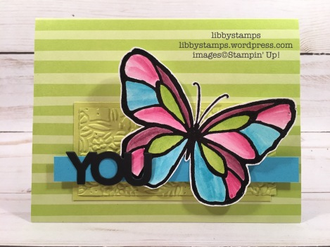 libbystamps, stampin up, Beautiful Day, Aqua Painter, Celebrate You Thinlits, Petal Pair Embossing Folder, CCMC