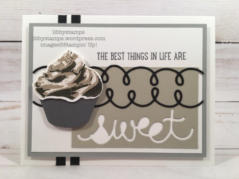 libbystamps, stampin up, Sweet Cupcake, Cupcake Cutouts Framelits, CCMC