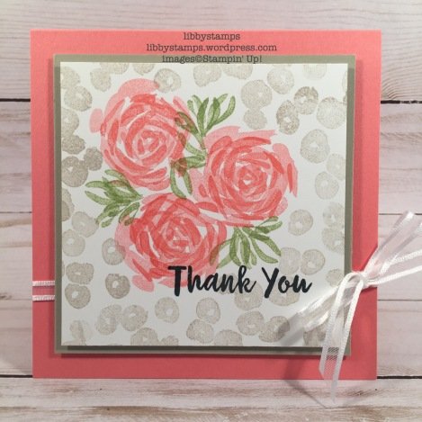 libbystamps, stampin up, Abstract Impressions, Whisper White 1/4 Organza Ribbon, CCMC, 2018-2019 Stampin Up