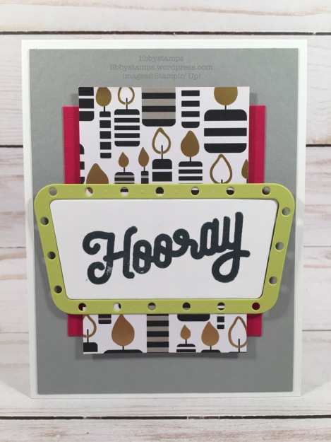 libbystamps, stampin up, Broadway Birthday, Broadway Lights Framelits, Broadway Birthday Bundle, Broadway Bound  DSP, CCMC