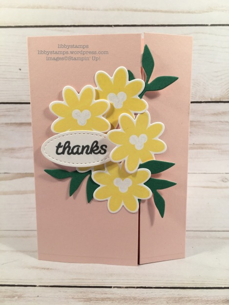 libbystamps, stampin up, Bouquet Blooms, Bouquet Blooms, Gatefold Blossoms Framelits, Stitched Framelits, CCMC, blog hop